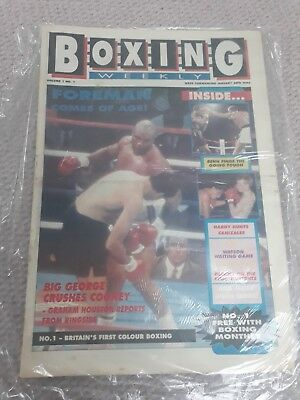 boxing weekly volume 1-50 1990