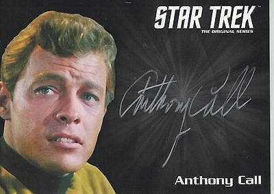 Star Trek TOS 50th Anniversary (2016) Anthony Call autograph