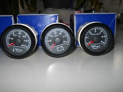 Ve Hsv Gauges, Black, Senator, Clubsport, Gts