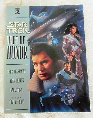 Star Trek Graphic Novel: Debt of Honour. Softback.