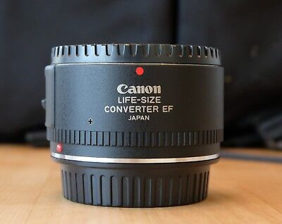 Canon Life Size Converter EF For EF 50mm F/2.5