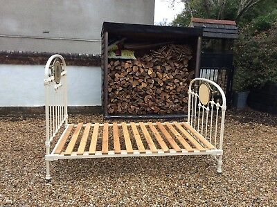 4ft French Iron Bed