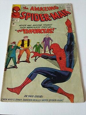 Amazing Spider-Man 10 - The Enforcers