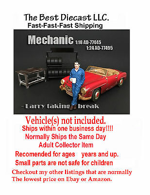Mechanic Larry American Diorama Resin Figure Only  1:18