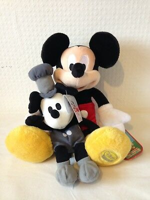 Disney Plush Soft toy Mickey Mouse steamboat Willie clubhouse
