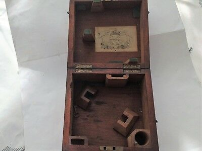 Admiralty Small Sextant Box C1860