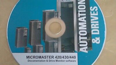 SIEMENS MICROMASTER 420/430/440 DOCUMEN./COMMISS. SOFTWARE Drivers