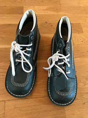 Womens Kickers Blue - Size 7 - Excellent Condition - Worn Twice