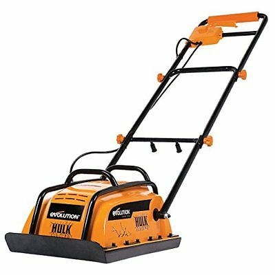 Evolution HULK ELECTRO Electric Compactor Wacker Plate 400 x 320 mm (230V)