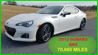 2013 Subaru BRZ Limited 2013 Limited Used 2L H4 16V Manual RWD Coupe Premium