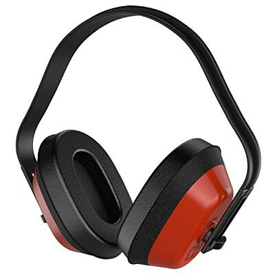 Neiko 53925A Safety Ear Muffs NRR 26 dB Adjustable ANSI S3.19-1974 Approved Plug
