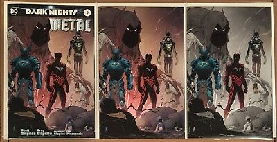 Dark Nights Metal 5 • Planet Comicon Kansas City Variant Set A B C • In Hand Nm+