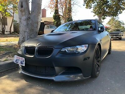 2011 BMW M3 Coupe 2011 BMW M3 in Matte Black with Meisterchaft Exhaust