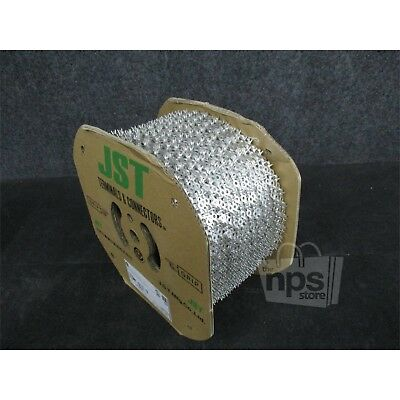 Roll Of 7,500 JST SRF-51T-3 Chain Terminals/Slices Wire Size AWG #20 To #14