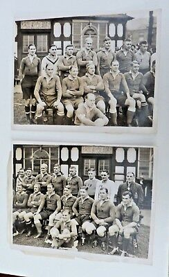 2 X Vintage Rugby Union Photos,  1930's ?
