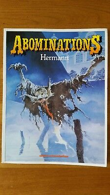 Abominations - Hermann - Graphic Novel (Catalan) Dark Fantasy.