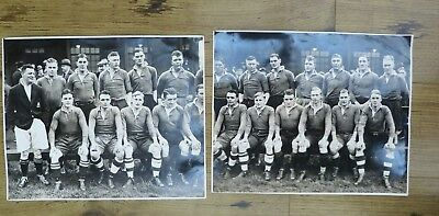 2 X Vintage Rugby Union Photos,  The Rest 1930's ?