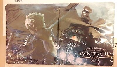 Final Fantasy VII Playmat Winter Cup Wales Exclusively from Wales only!