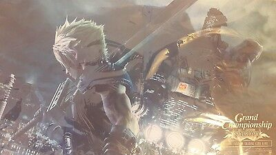Final Fantasy VII Playmat Grand Championship Nagoya Exclusively from Japan only!