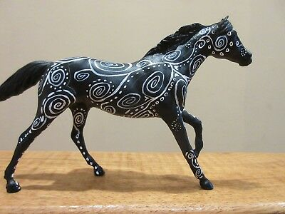 Cute Paddock Pal Fantasy Swirling Decorator Horse Stable Mascot for your herd!