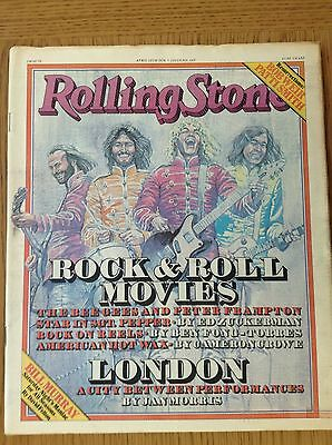ROLLING STONE MAGAZINE ISSUE No.263 APRIL 20 1978 - THE BEE GEES&PETER FRAMPTON
