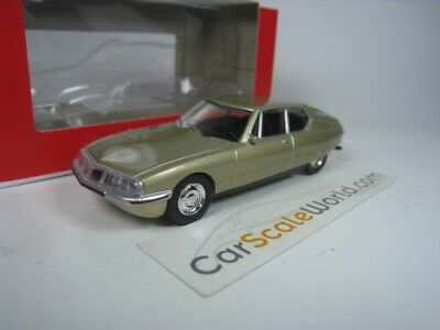 Citroen Sm - 3 Inches - 1/54 Norev (Gold)