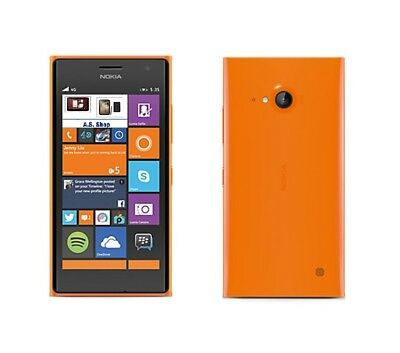 Nokia Lumia 735 in Orange Handy Dummy Attrappe - Requisit, Deko, Ausstellung