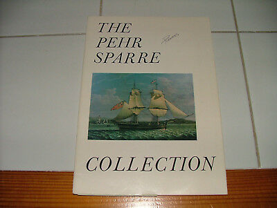 Robert Eldred - marine maritime auction catalog - 1975 - Pehr Sparre Collection
