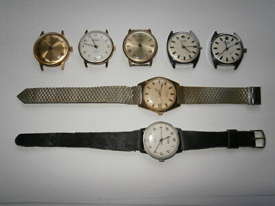 Job lot of vintage gents SEKONDA watches mechanical watches spares or repair