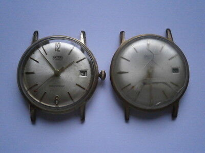 Job lot of vintage gents SMITHS watches mechanical watch spares or repair 602