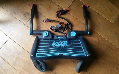 Lascal Mini Buggy Board with Uncut Straps, Extenders and Holding Strap