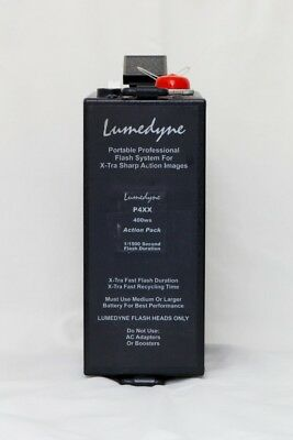 Lumedyne P4xx 400 ws Action power pack