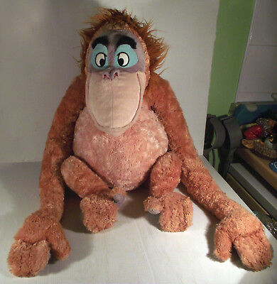 "Disney Store Extra Large 24"" King Louie Monkey The Jungle Book Soft Toy"
