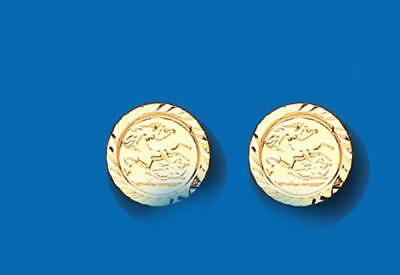 940ebce52 BRAND NEW 9CT Gold George and Dragon stud earrings - boxed - £25.99 ...