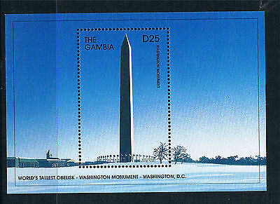 Gambia 1997 Wonders of the World 1x MS SG 2709c MNH