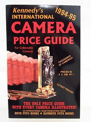 Kennedys Internatinal Camera Price Guide for collectable Camera 1994-95