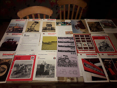 international tractor brochures