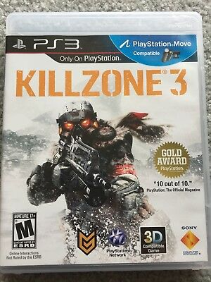 Killzone 3 (Sony PlayStation 3, PS3) (Excellent Condition)
