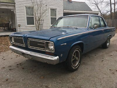 1968 Plymouth Duster  1968 Plymouth Valiant