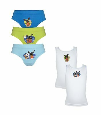 Bing Boys Pants and Vest Underwear Set 18 Months - 5 Years
