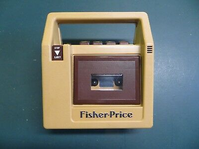 VINTAGE 1980's FISHER-PRICE CHILDS CASSETTE TAPE RECORDER & PLAYER - non-working