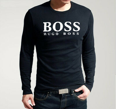 Hugo Boss Men's Long Sleeves T-Shirt