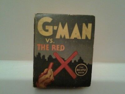 the big little book g man vs the red x no.1147/ 1936