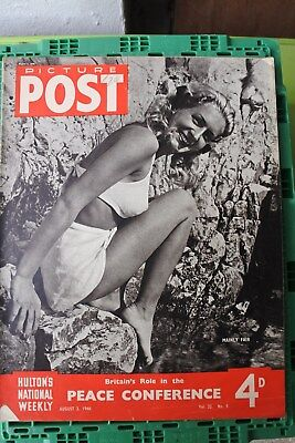 Picture Post 1946 August 3 V32 #5 Cricket Walter Hammond Peace Conference