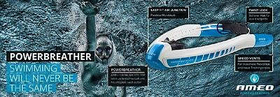 New Performance Aid Ameo Powerbreather Lap Snorkel For High Performance Swimmer