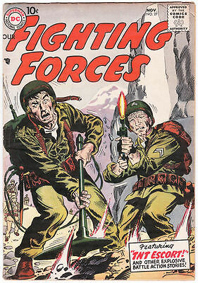 Our Fighting Forces #27 VG/FN 1957