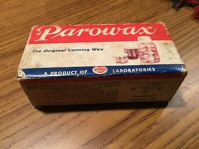 SOHIO Parowax 12 oz. original canning wax
