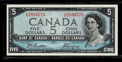 Canada Five Dollars 1954 Beattie-Coyne Uncirculated