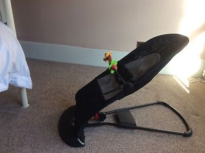 Baby Bjorn Baby Bouncer with two covers and wooden toy