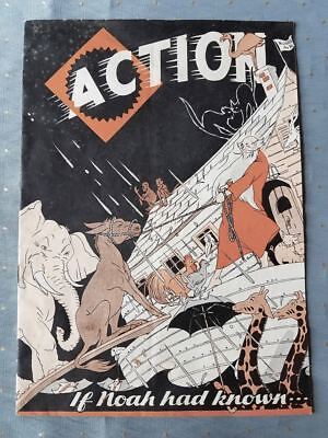 Crazy 1934 Allis-Chalmers Tractor Sales Piece - Comic Book Style With Noah